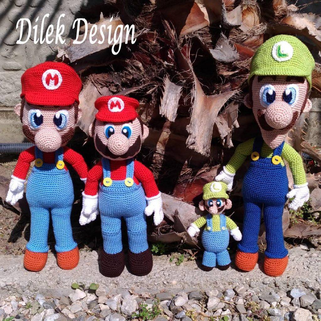 Amigurumi Super Mario And Luigi Crochet Patterns Amigurumi