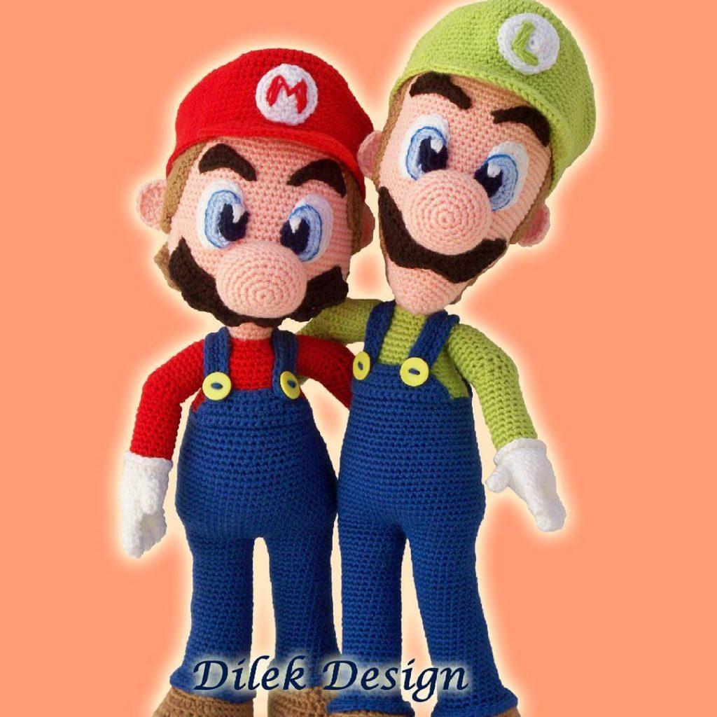 Super Mario Bros Inspired Crochet Amigurumi Dolls | Gadgetsin | 1024x1024