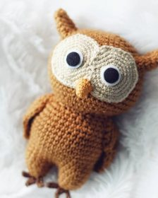 Crochet Owl Family Amigurumi Pattern - Repeat Crafter Me | 280x224