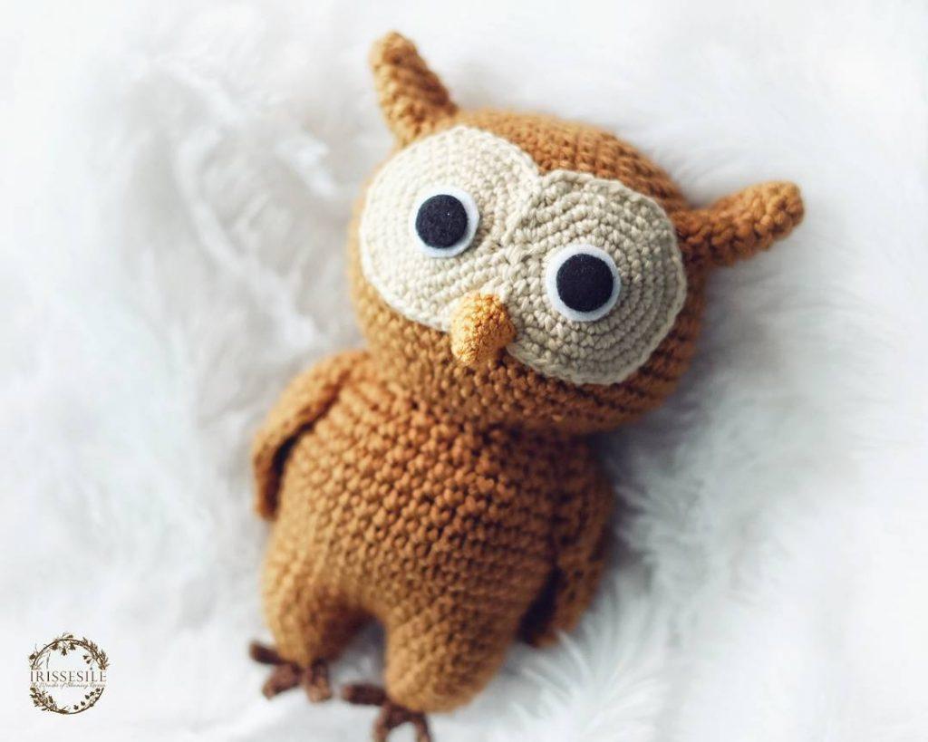 Amigurumi Owl Pattern crochet owl pattern owl pattern   Owl ...   819x1024