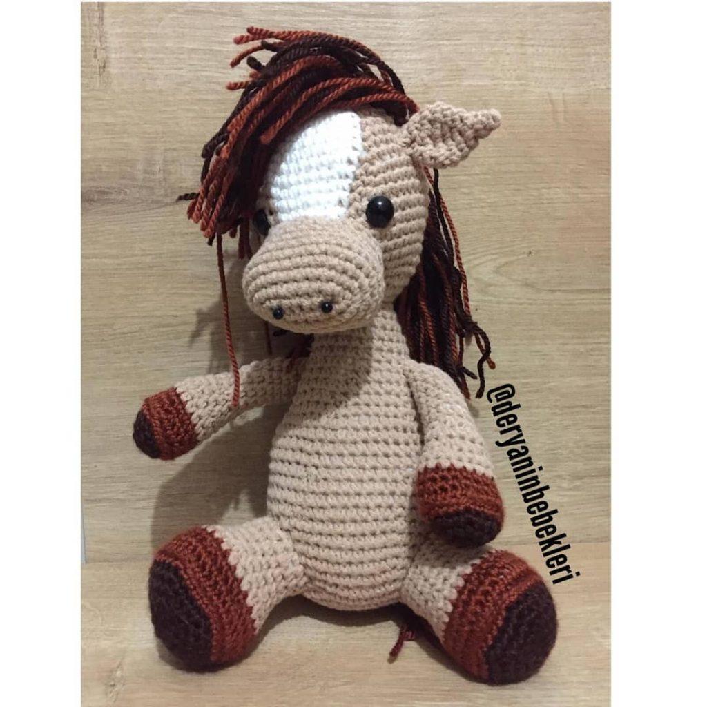 Cutest crochet horse! Pattern | Crochet horse, Crochet patterns ... | 1024x1024
