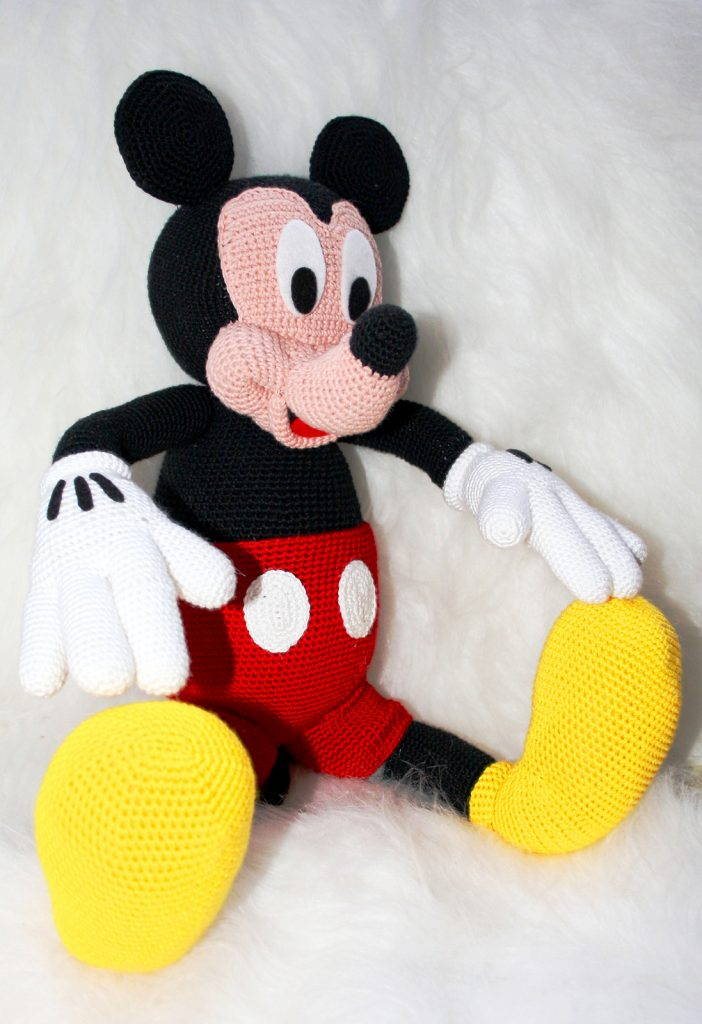 Mickey mouse 10 inches – PDF amigurumi crochet pattern by ... | 1024x702