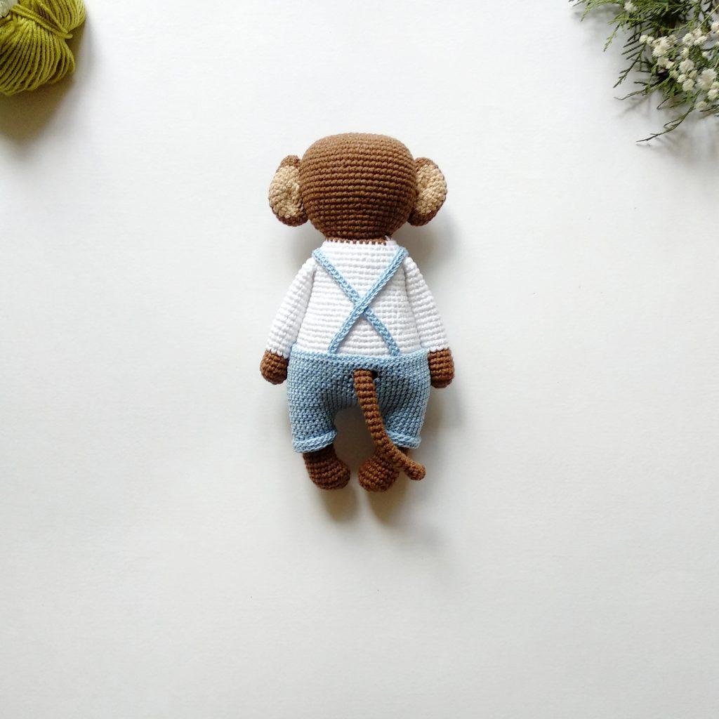 Amigurumi maymun yapımı örgü oyuncak maymun yapılışı amigurumi ... | 1024x1024