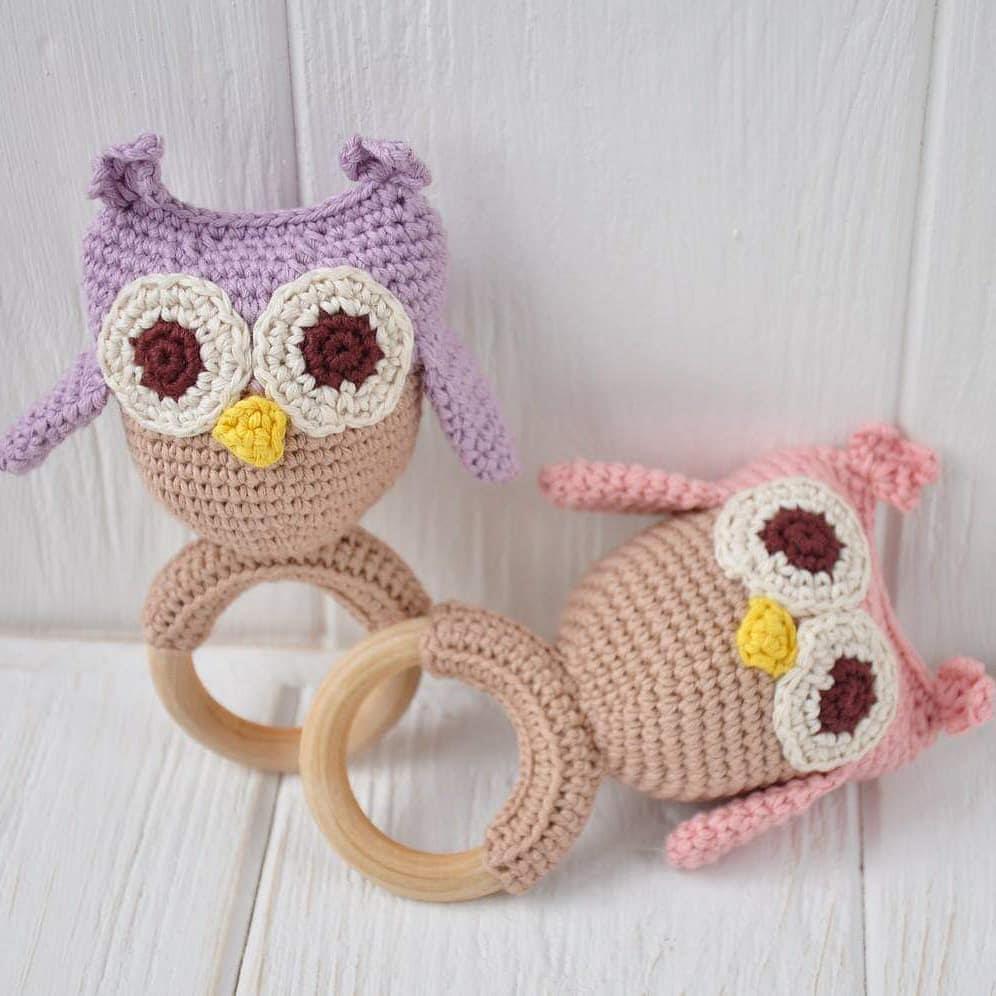 Purple Owl Softies Animal Amigurumi Crochet Free Pattern (con ... | 996x996