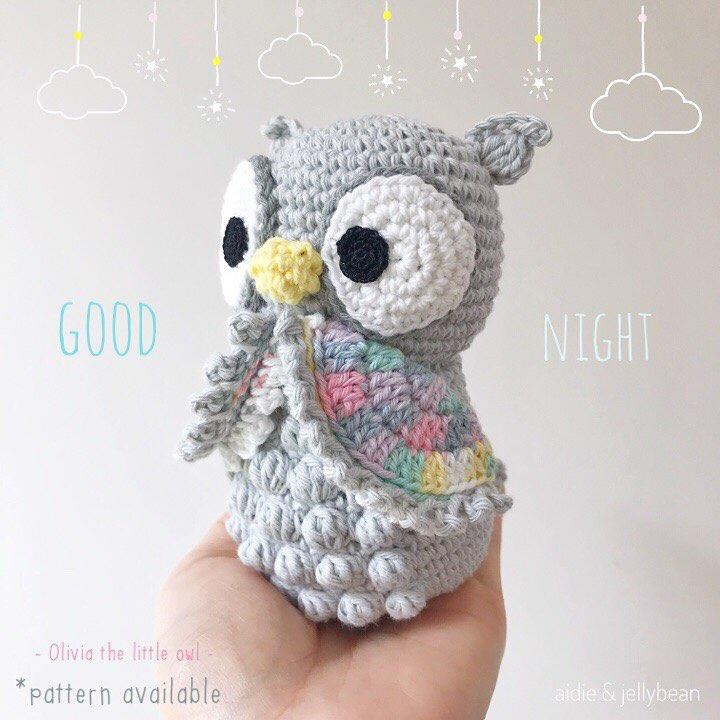 Amigurumi Crochet Owl Free Patterns Instructions | 720x720