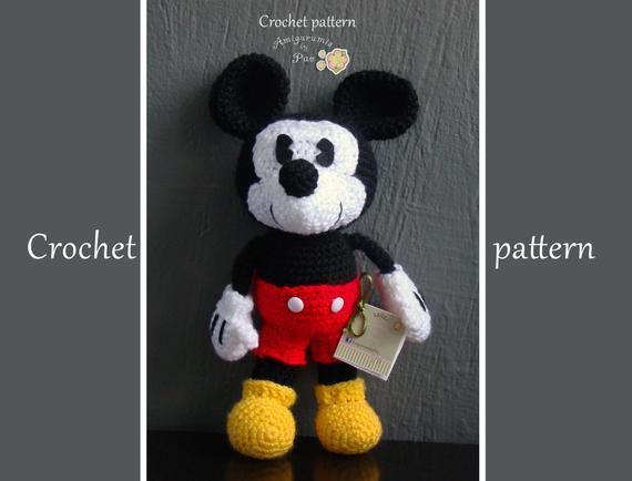 Amigurumi Crochet Mickey Mouse Patterns Amigurumi Patterns Tutorials