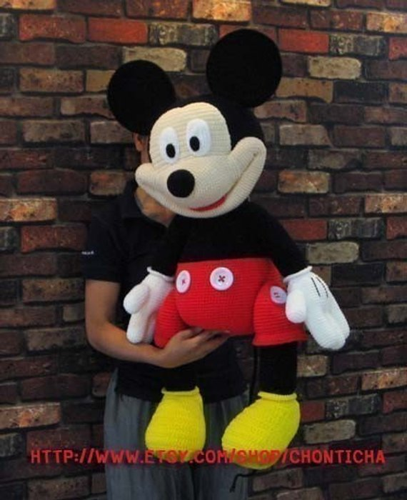 Mini And Mickey Mouse (Disney) Free Pattern | Projekte | 700x570