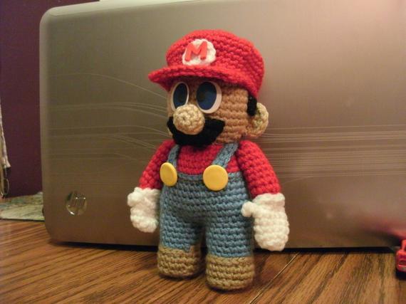 Crochet Mario and Luigi Pattern Free | 427x570