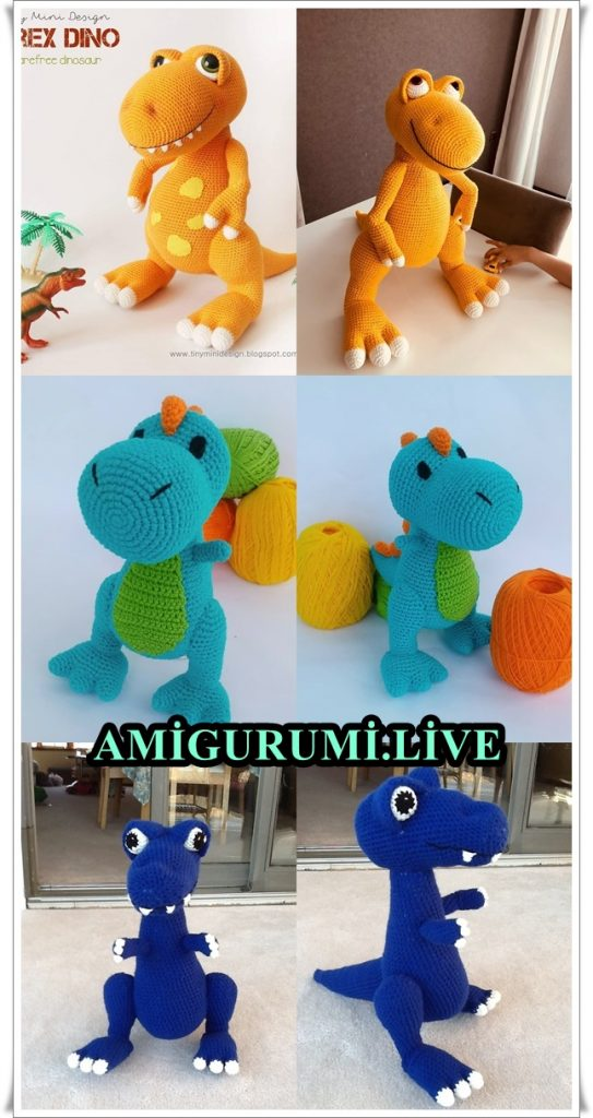 2019 All Best Amigurumi Crochet Dragons Free Patterns