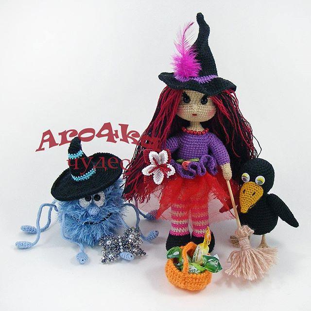 Amigurumi cadı Serisi – 10marifet.org   640x640
