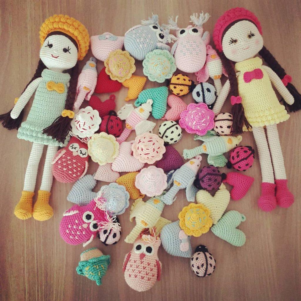 Lalaloopsy Doll Amigurumi Pattern | Bonecas de crochê, Tricô e ... | 1024x1024