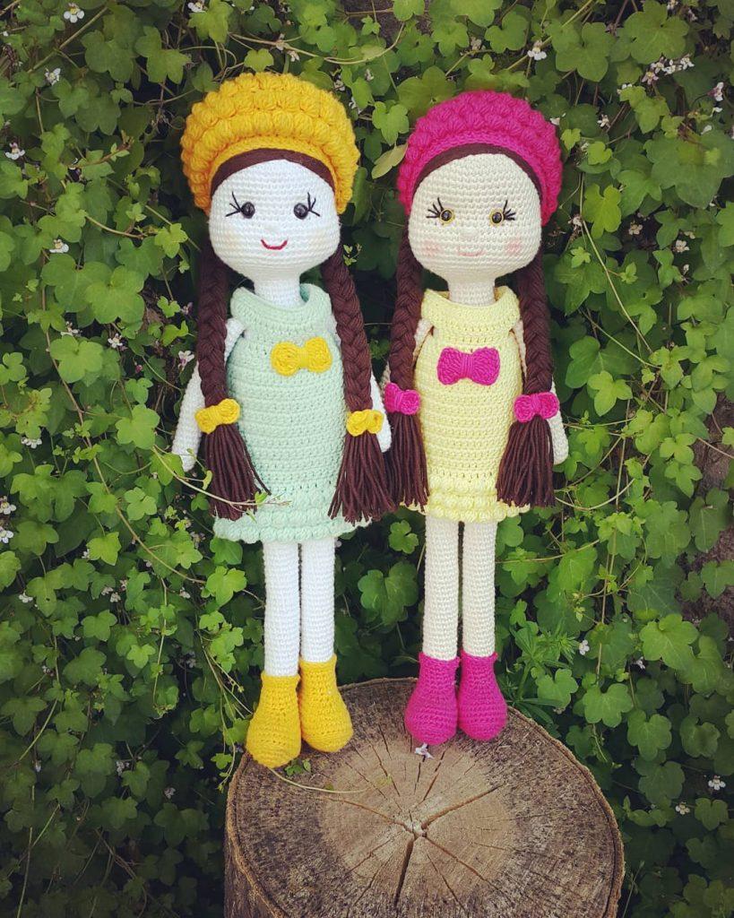 Free Crochet Amigurumi Doll Pattern Tutorials | Crochet dolls free ... | 1024x819