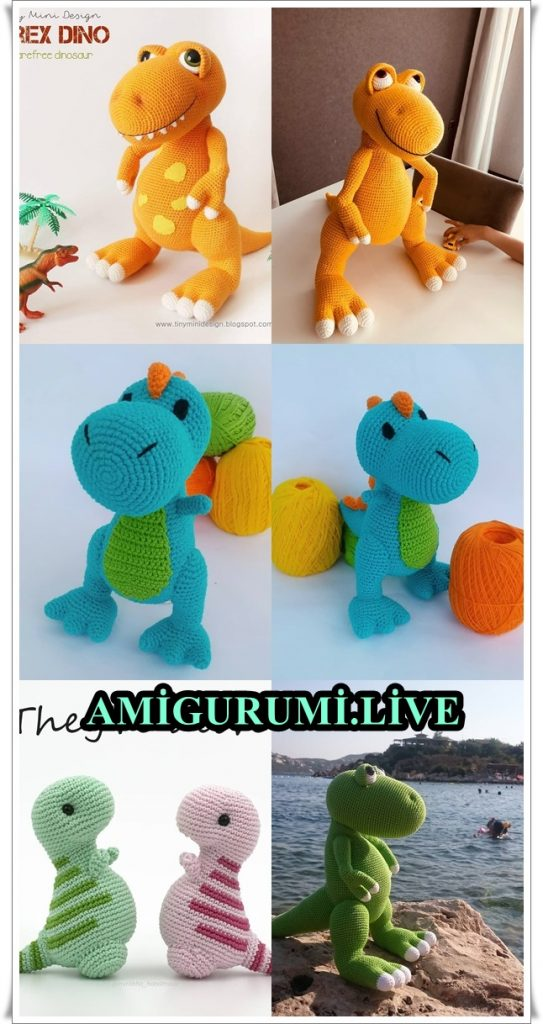 Drake the Dragon amigurumi pattern - Amigurumipatterns.net | 1024x543