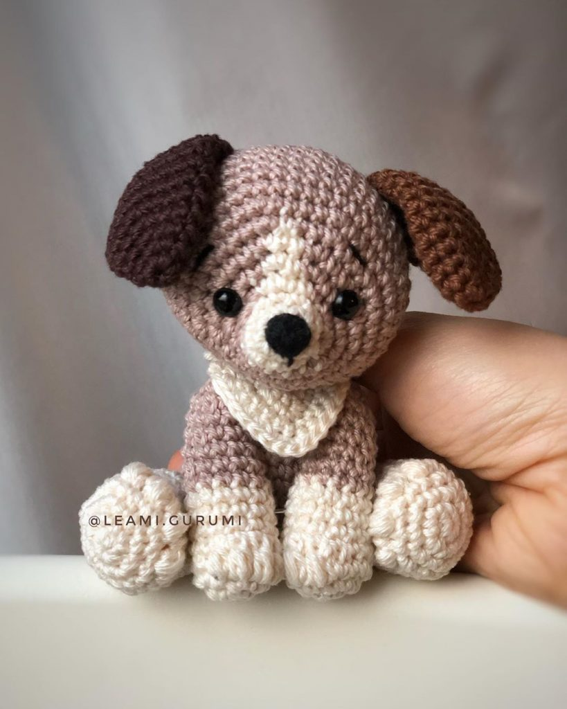 Amigurumi Crochet Pattern Dog | 1024x819