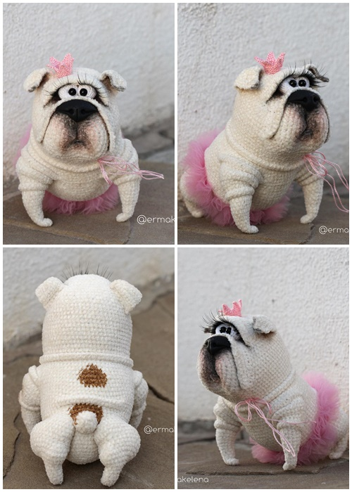 Perro Yorkshire terrier a crochet - Tutorial paso a paso | Perro ... | 700x500