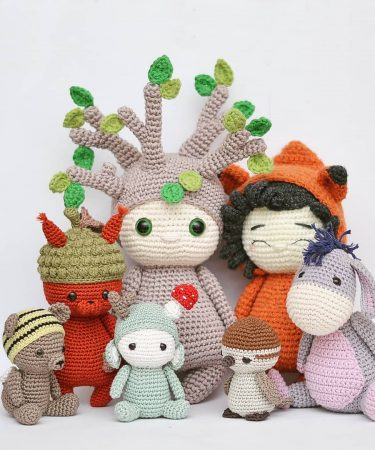 19 Free Amigurumi Crochet Patterns | AllFreeCrochet.com | 450x375