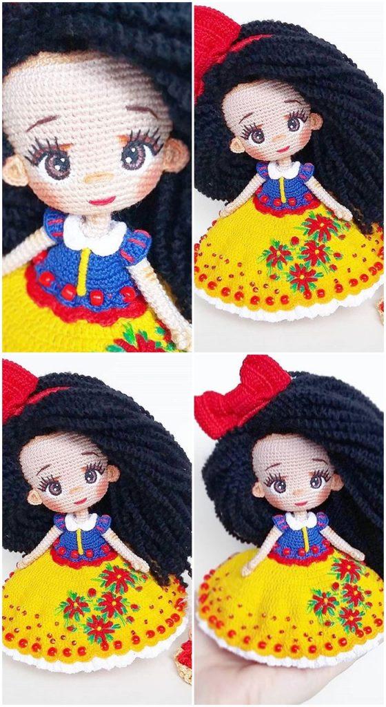 Cute Amigurumi Dolls Free Crochet Patterns | 1024x560
